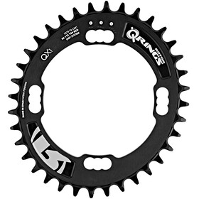 Rotor MTB XC1 Q-Ring Klinge Singlespeed sort